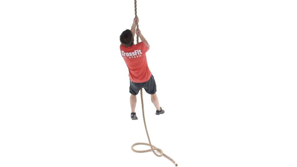 The Legless Rope climb