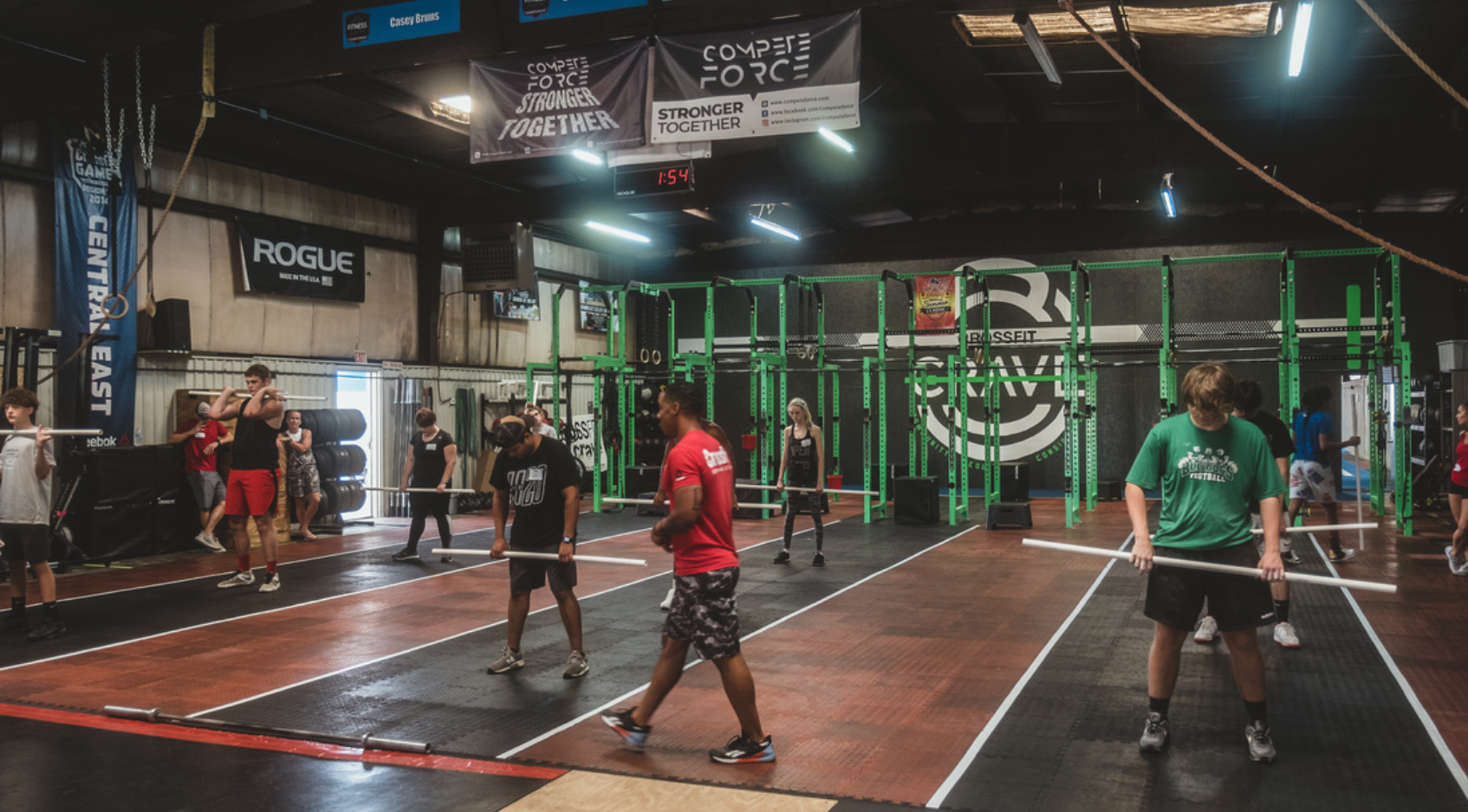 PVC demo at a Scholarship CrossFit Level 1