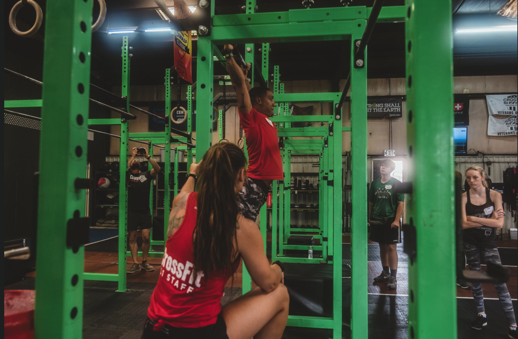 Demo at a CrossFit Scholarship Level 1