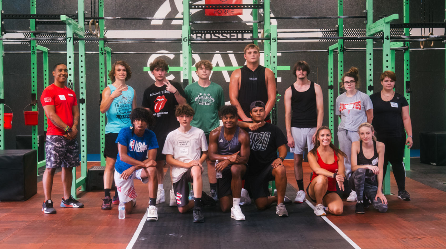 Participants at the CrossFit Scholarship Level 1