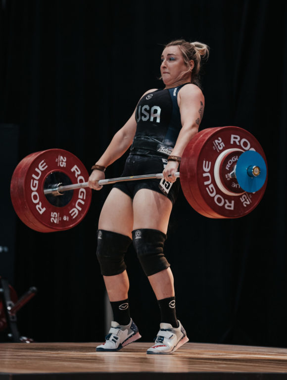 Olympic medalist Katherine Nye, weightlifter